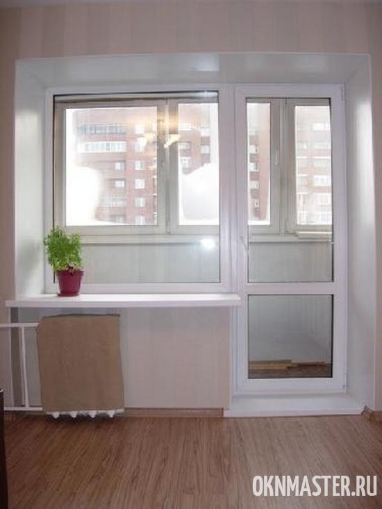 Установка балконных блоков под ключ