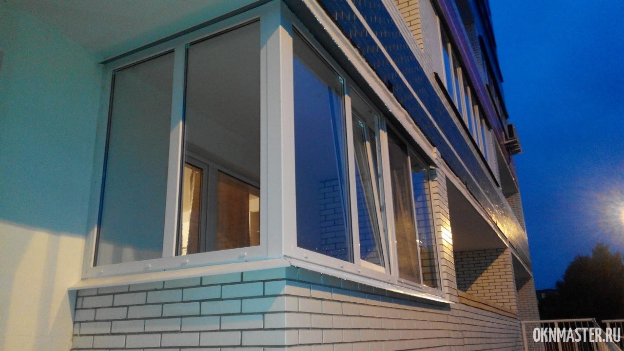 Балконные окна под ключ