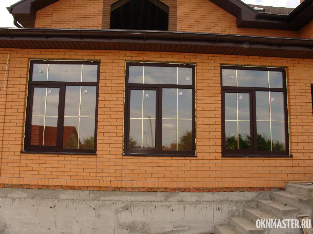 Окна в дом под ключ