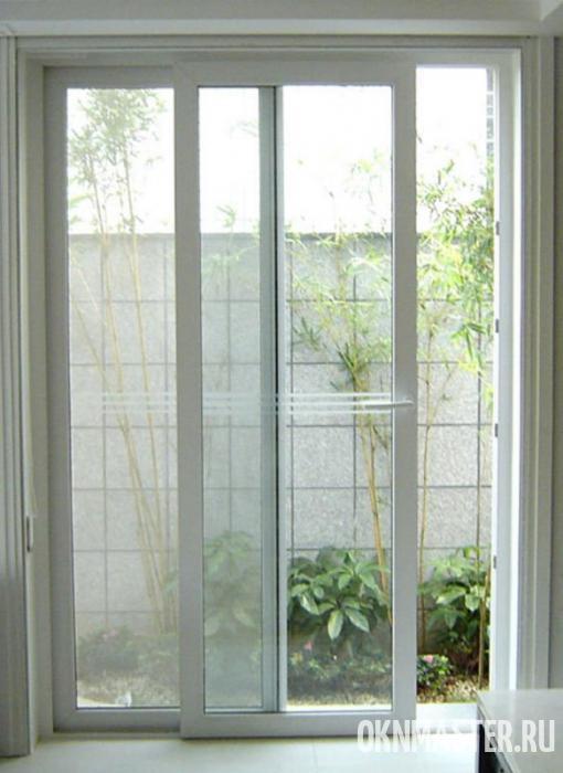 Регулировка балконной раздвижной двери