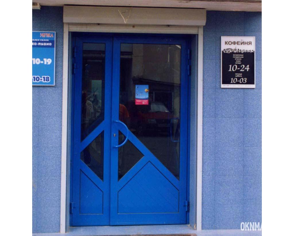 Регулировка алюминиевых входных дверей