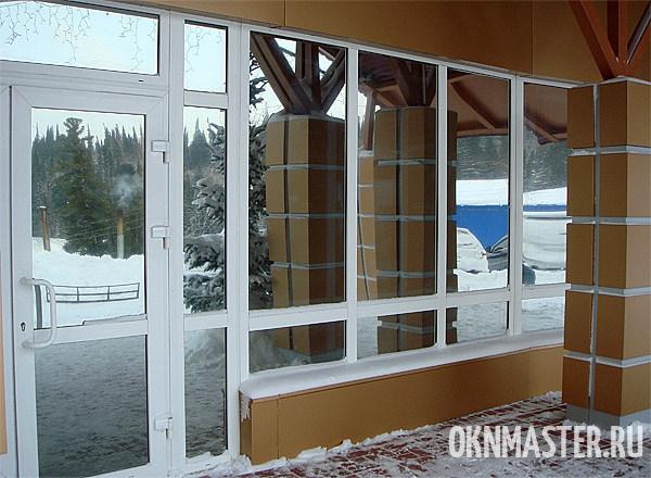 Регулировка балконных дверей