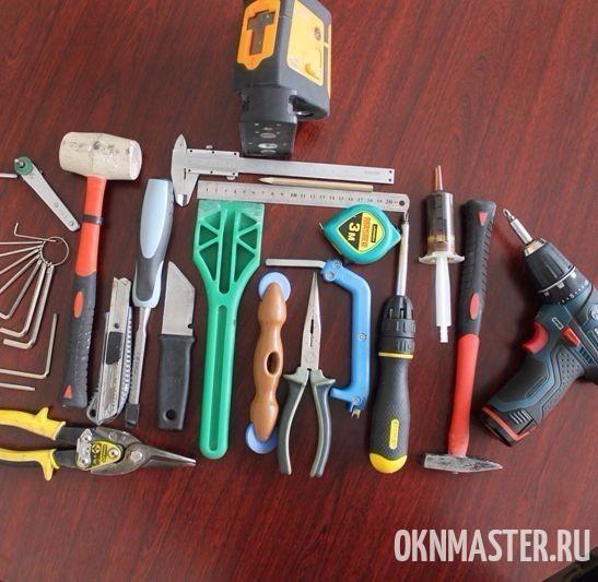Инструмент для ремонта пластиковых окон