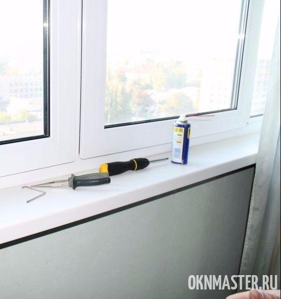 Ремонт пластиковых окон и регулировка