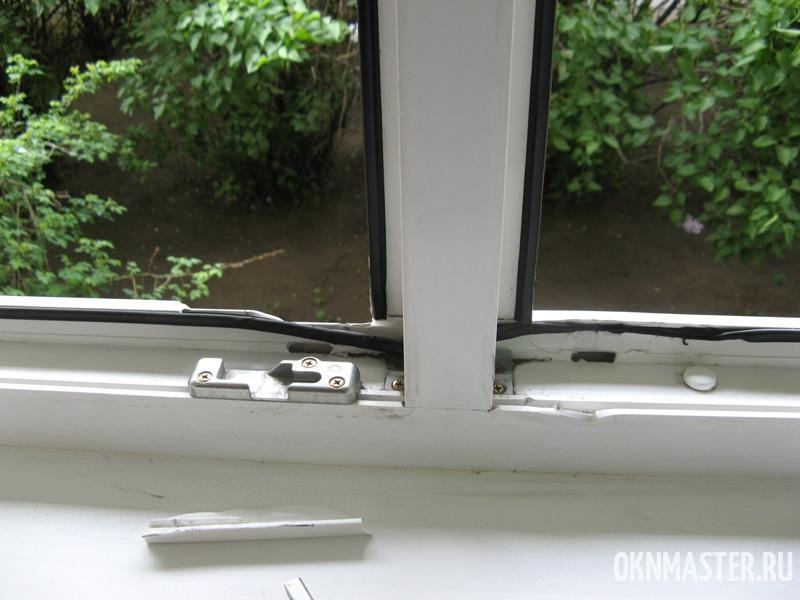 Вскрытие окна