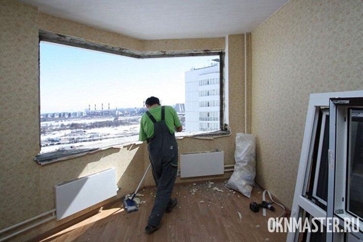 Установка окон в квартирах