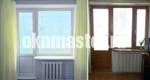 Варианты изготовления балконных дверей